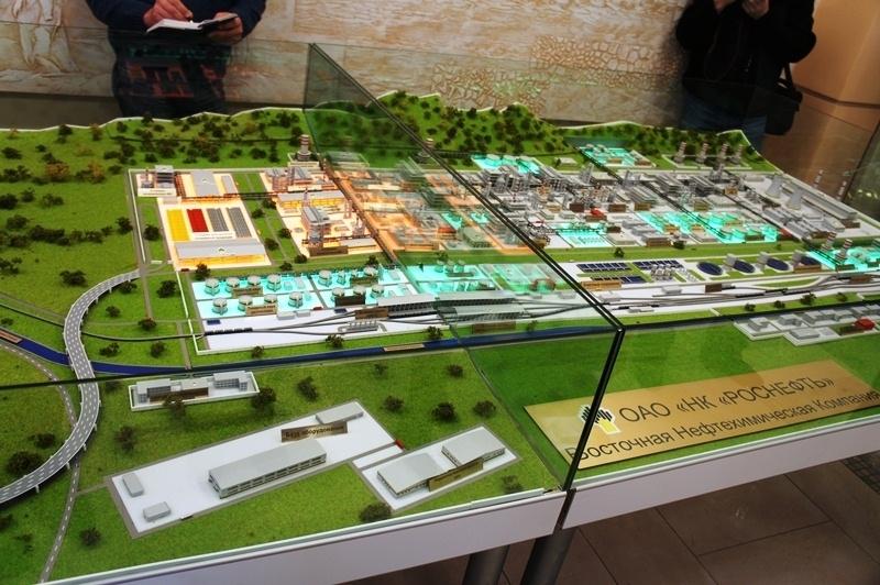 Строительство ВНКХ «Роснефти» вПриморье планируется начать зимой этого 2017